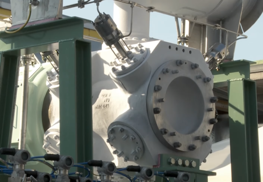 COZZANI valves and actuators for the cryogenic compressor in the first LNG Deposit in Italy